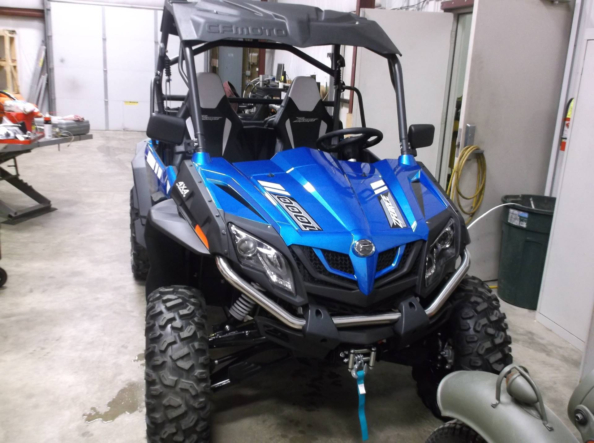 2018 Cfmoto Zforce 1000 Utility Vehicles Sioux City Iowa Cfm000219 Motor Blower Honda All New In
