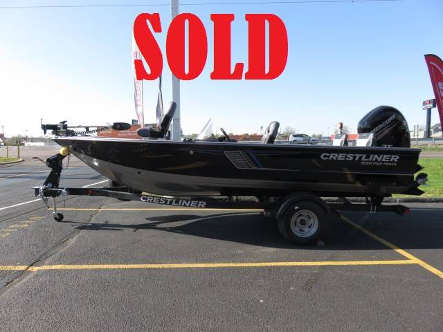 2018 Crestliner 1850SC FISH HAWK in Saint Peters, Missouri - Photo 1
