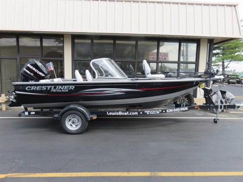 2013 Crestliner 1750WT FISH HAWK in Saint Peters, Missouri