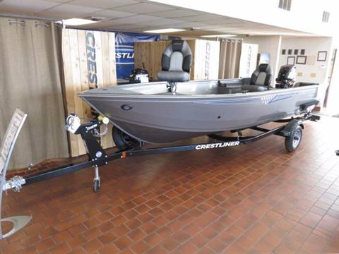 2018 Crestliner 1650 DISCOVERY TILLER in Saint Peters, Missouri