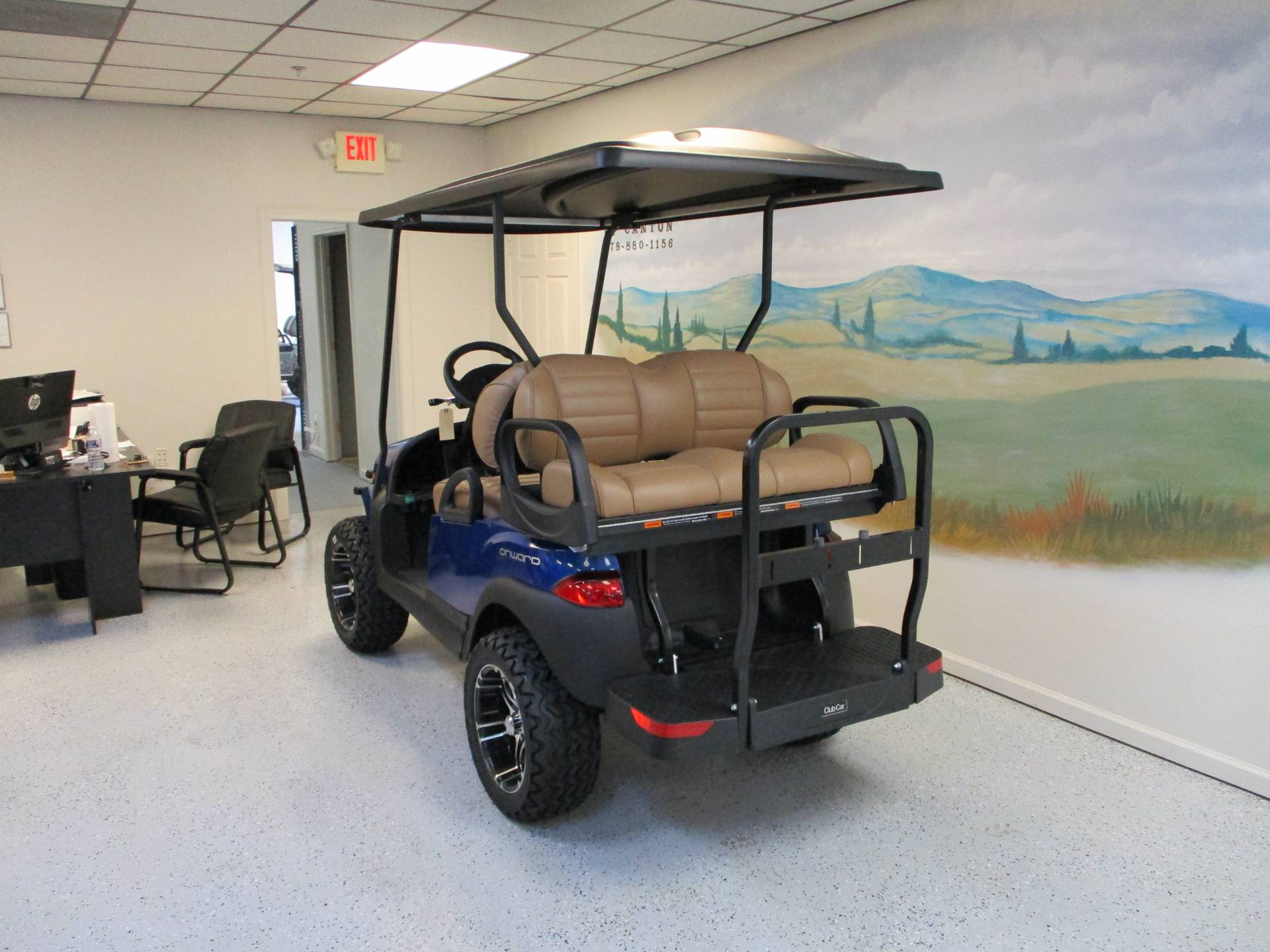 2020 Club Car Onward 4 Passenger Lifted Electric in Canton, Georgia - Photo 3