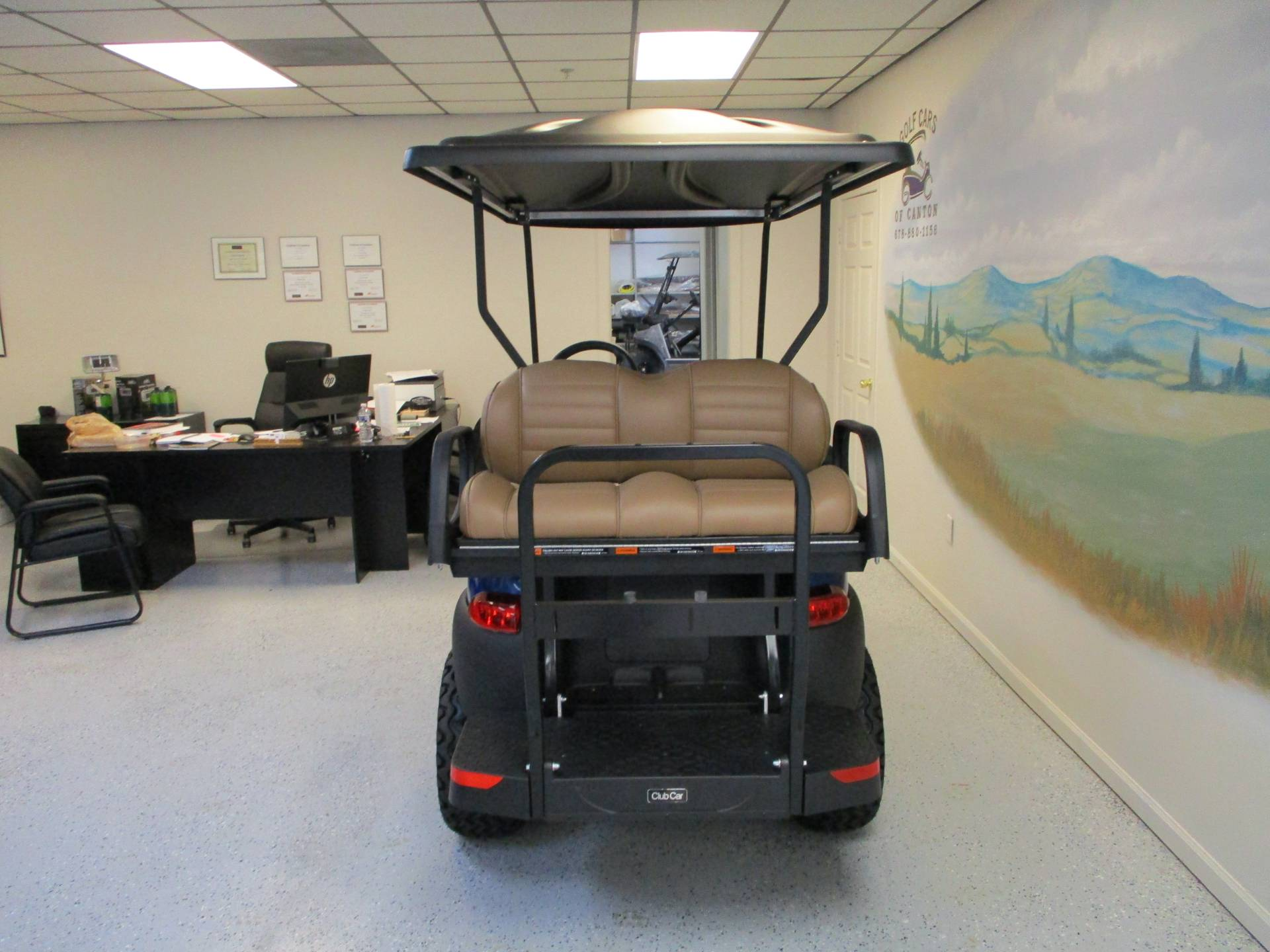 2020 Club Car Onward 4 Passenger Lifted Electric in Canton, Georgia - Photo 4