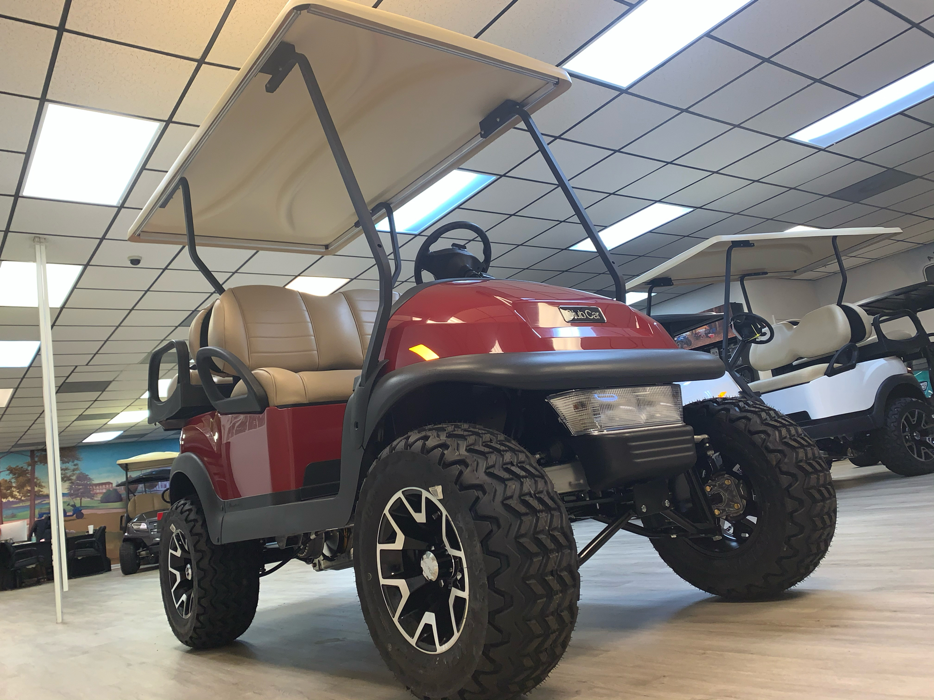 2021 Club Car V4L Gas in Canton, Georgia - Photo 12