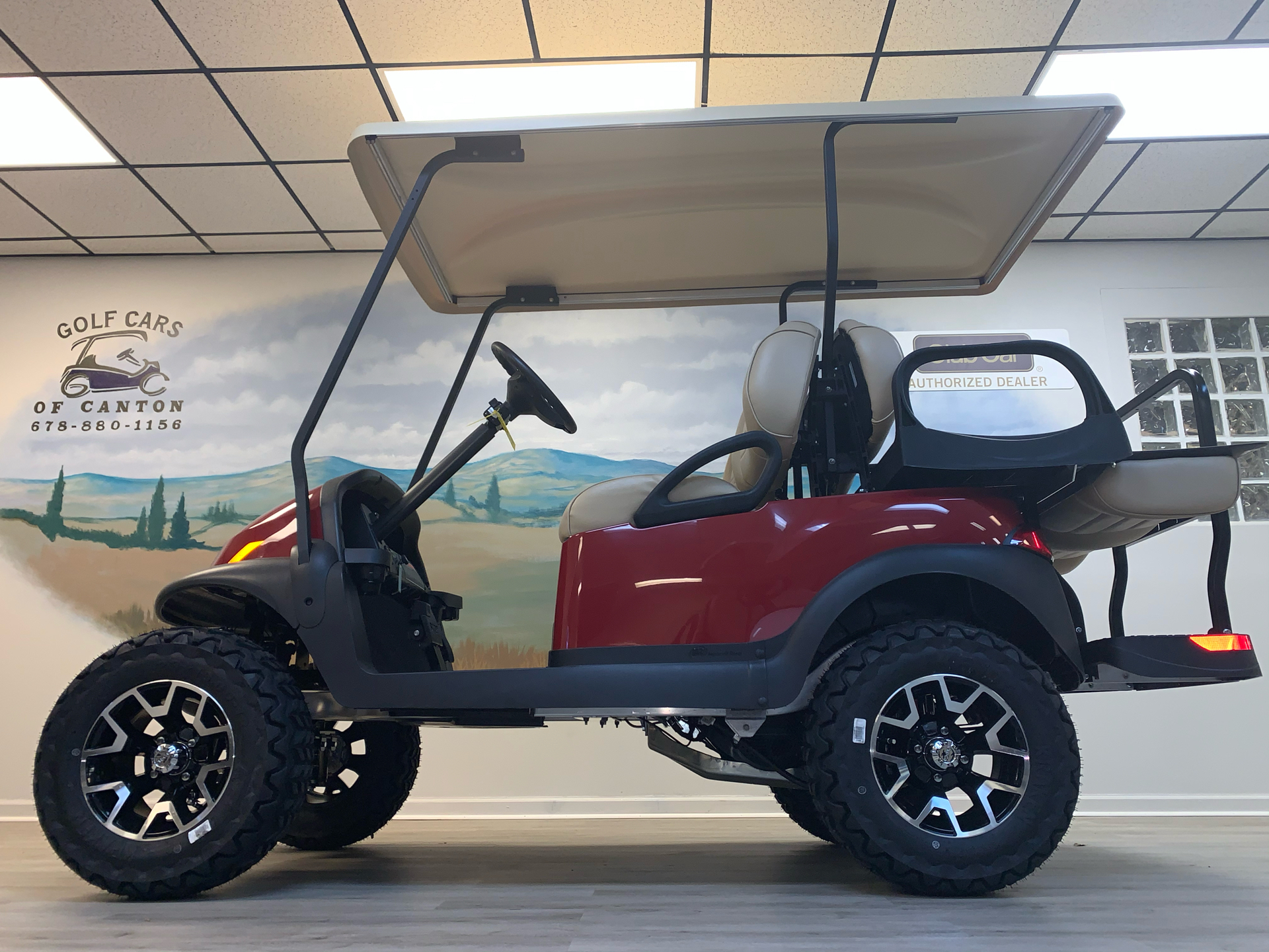 2021 Club Car V4L Gas in Canton, Georgia - Photo 14
