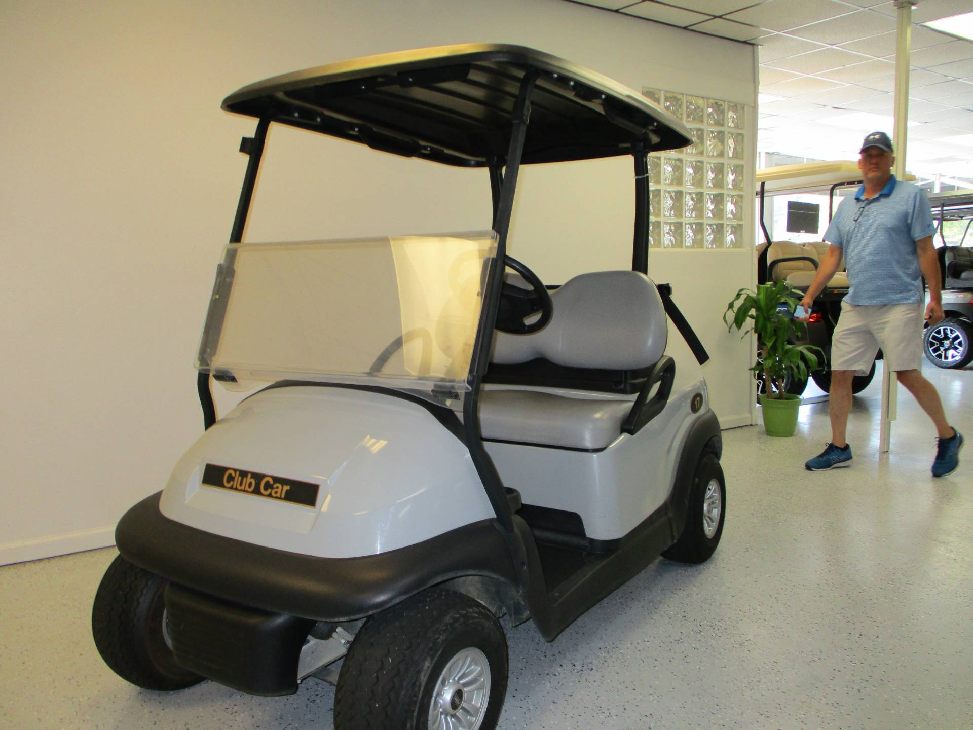 2017 Club Car Precedent 2 Passenger Electric in Canton, Georgia - Photo 1
