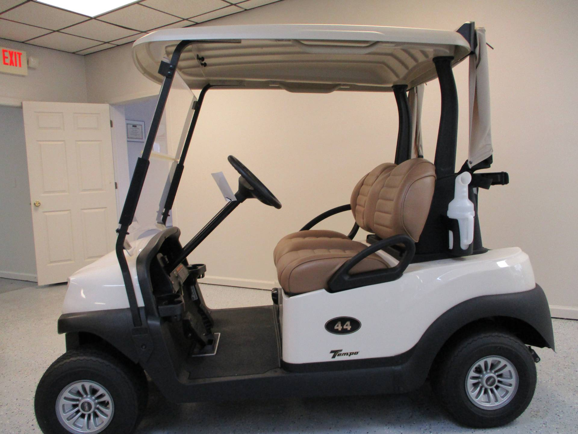 2019 Club Car Tempo 2 Passenger Electric in Canton, Georgia - Photo 2