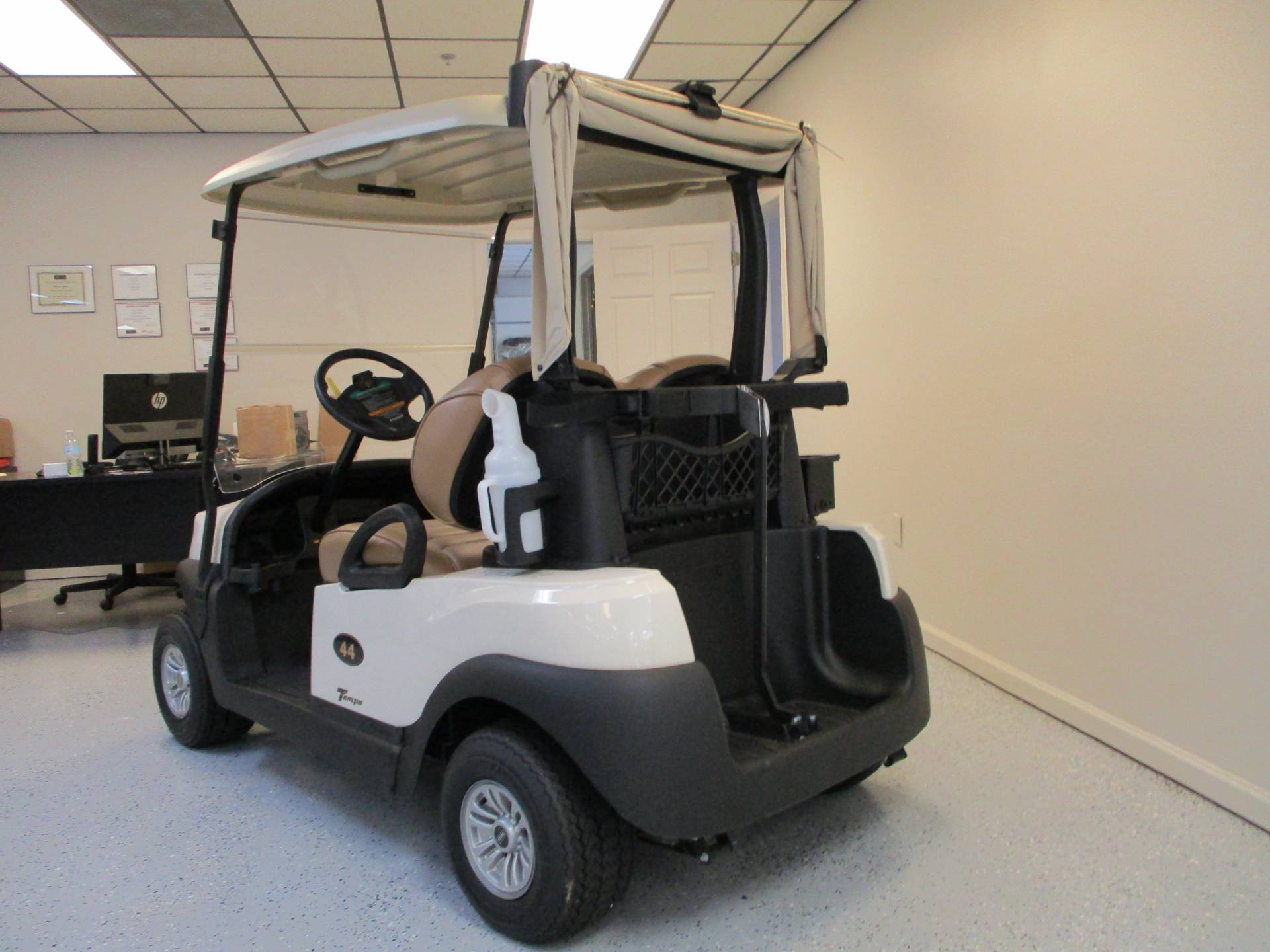 2019 Club Car Tempo 2 Passenger Electric in Canton, Georgia - Photo 3