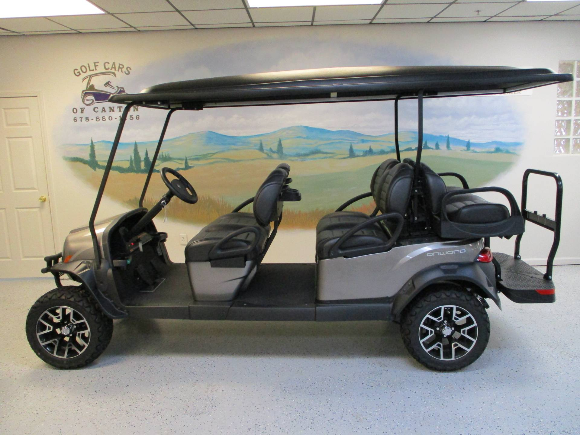 2020 Club Car Onward 6 Passenger Electric Lifted in Canton, Georgia - Photo 1