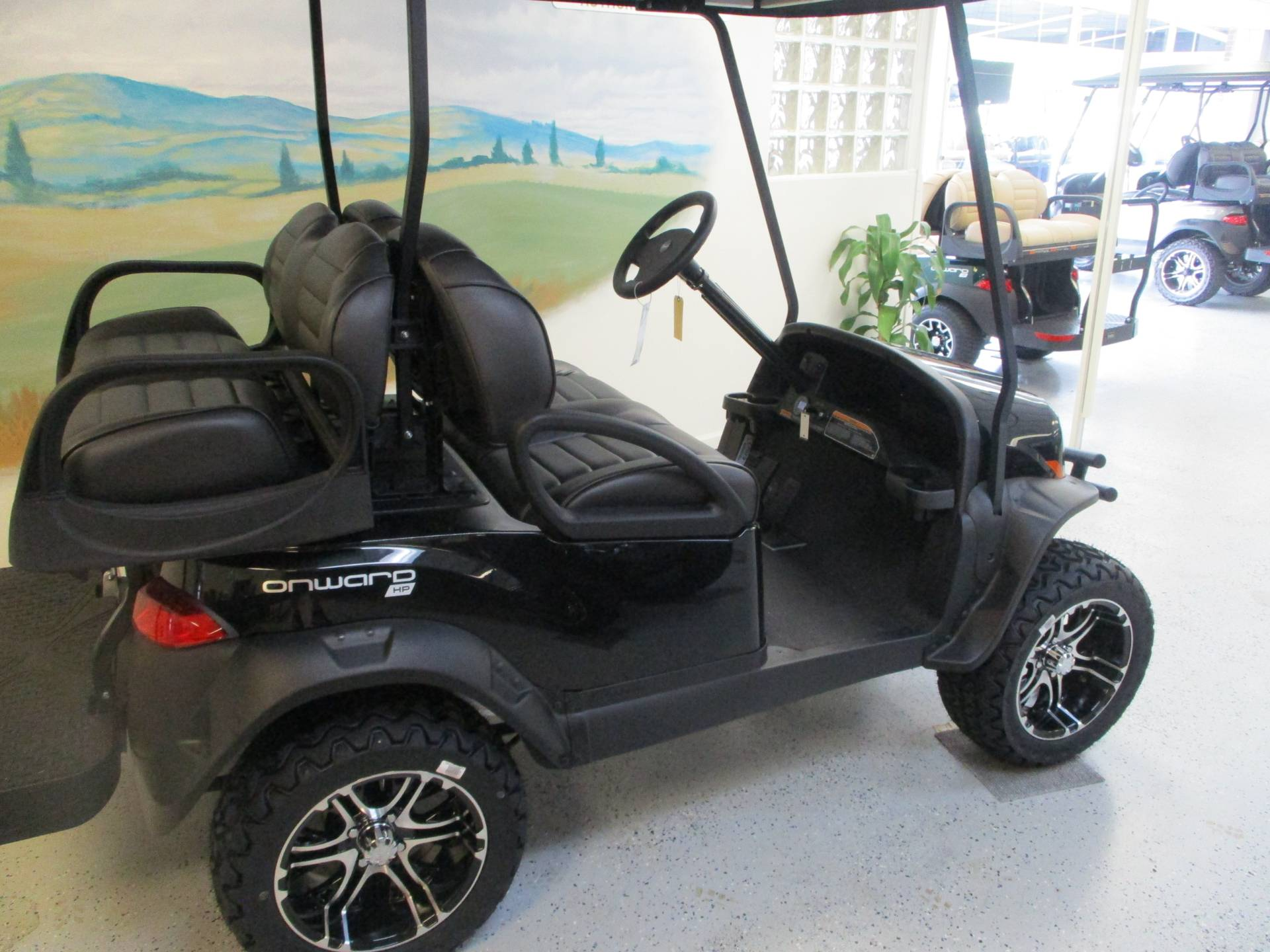 2020 Club Car Onward 4 Passenger Lifted Electric in Canton, Georgia - Photo 2