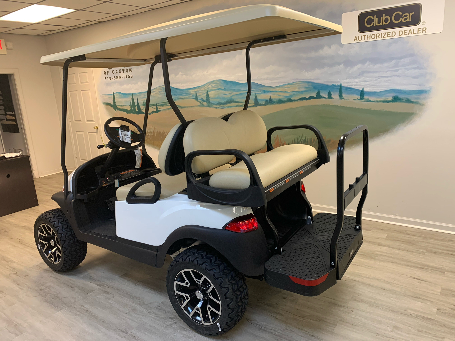 2021 Club Car V4L Gas in Canton, Georgia - Photo 11