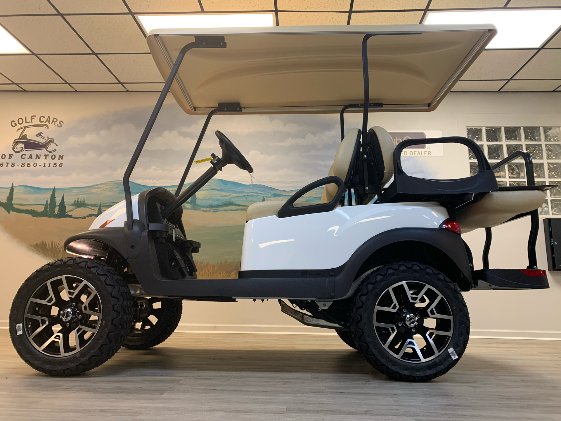 2021 Club Car V4L Gas in Canton, Georgia - Photo 15