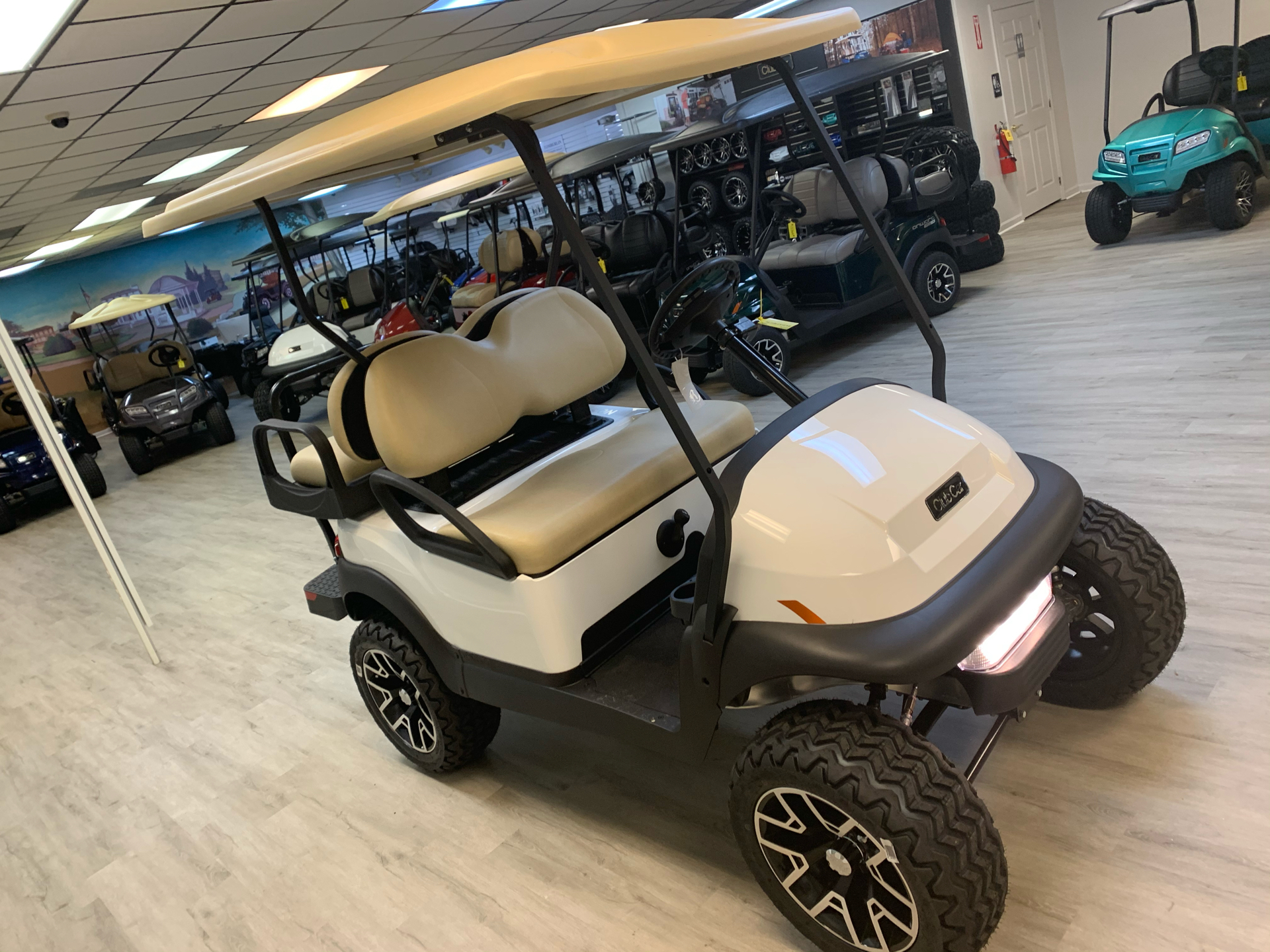 2021 Club Car V4L Gas in Canton, Georgia - Photo 20