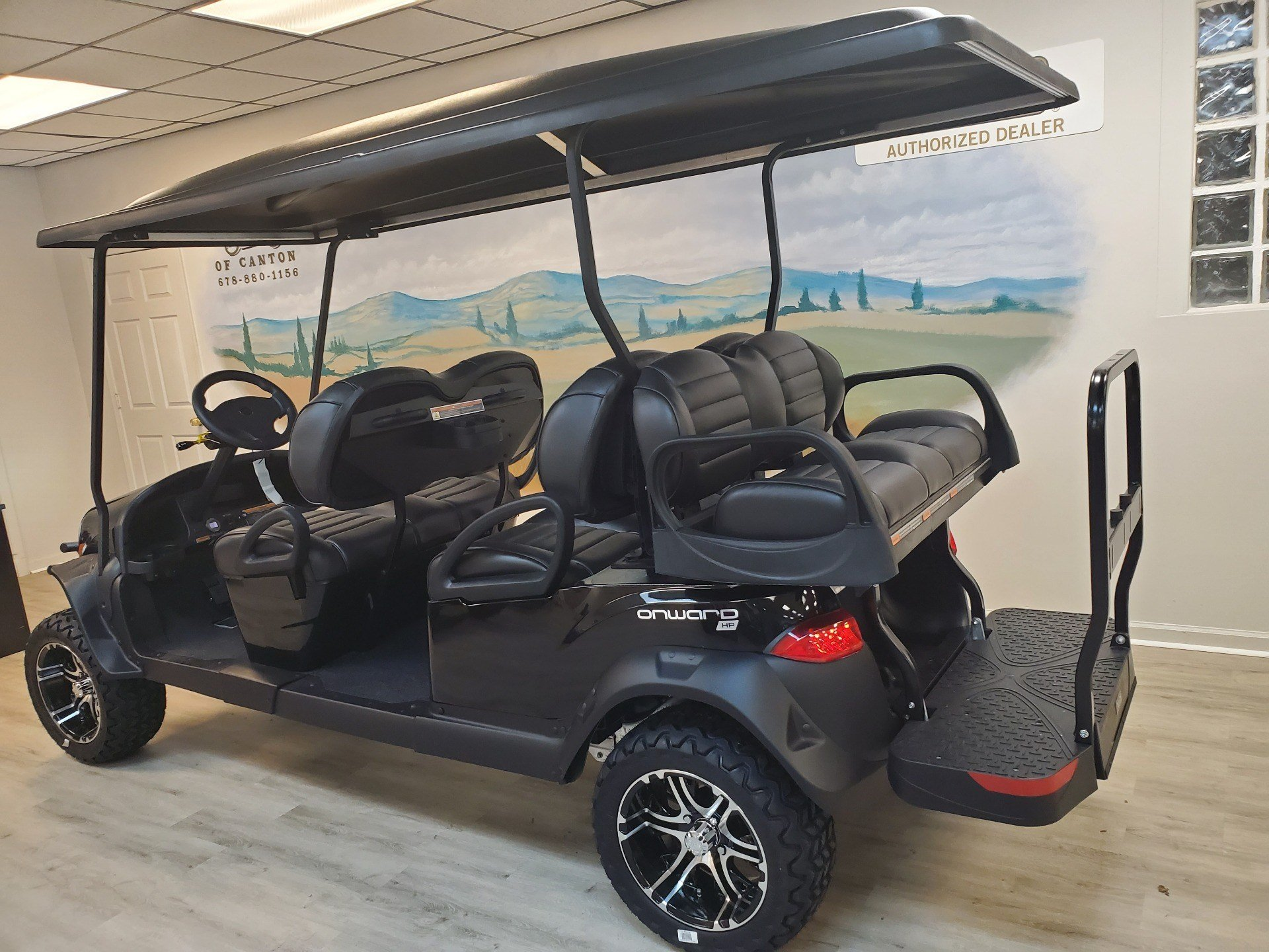 2021 Club Car Onward Lifted 6 Passenger HP Electric in Canton, Georgia - Photo 6