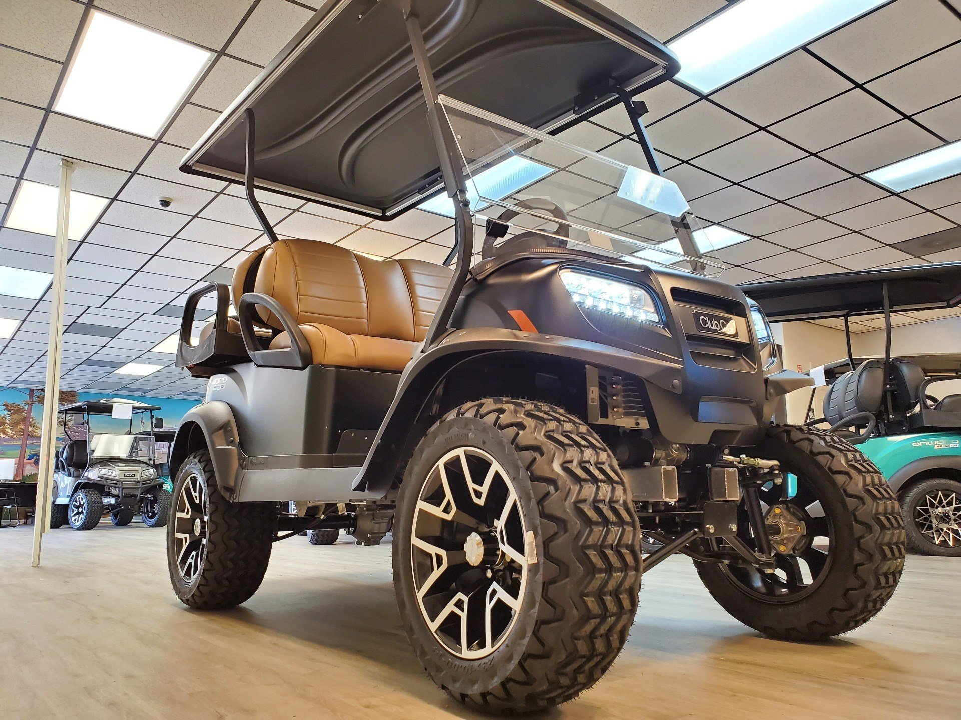 2021 Club Car Onward Lifted 4 Passenger HP Lithium Ion in Canton, Georgia - Photo 11