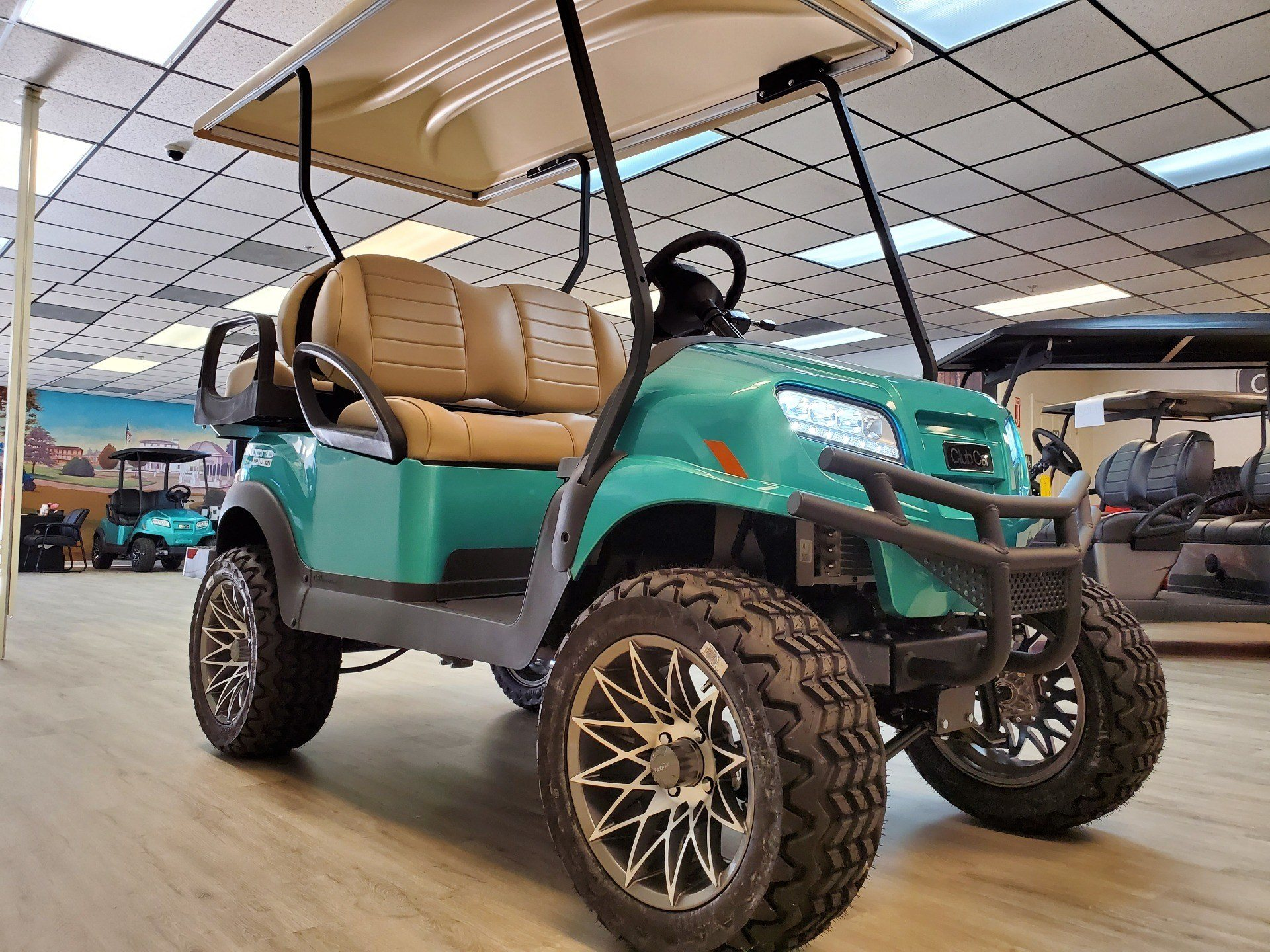 2021 Club Car Onward Lifted 4 Passenger HP Lithium Ion in Canton, Georgia - Photo 3