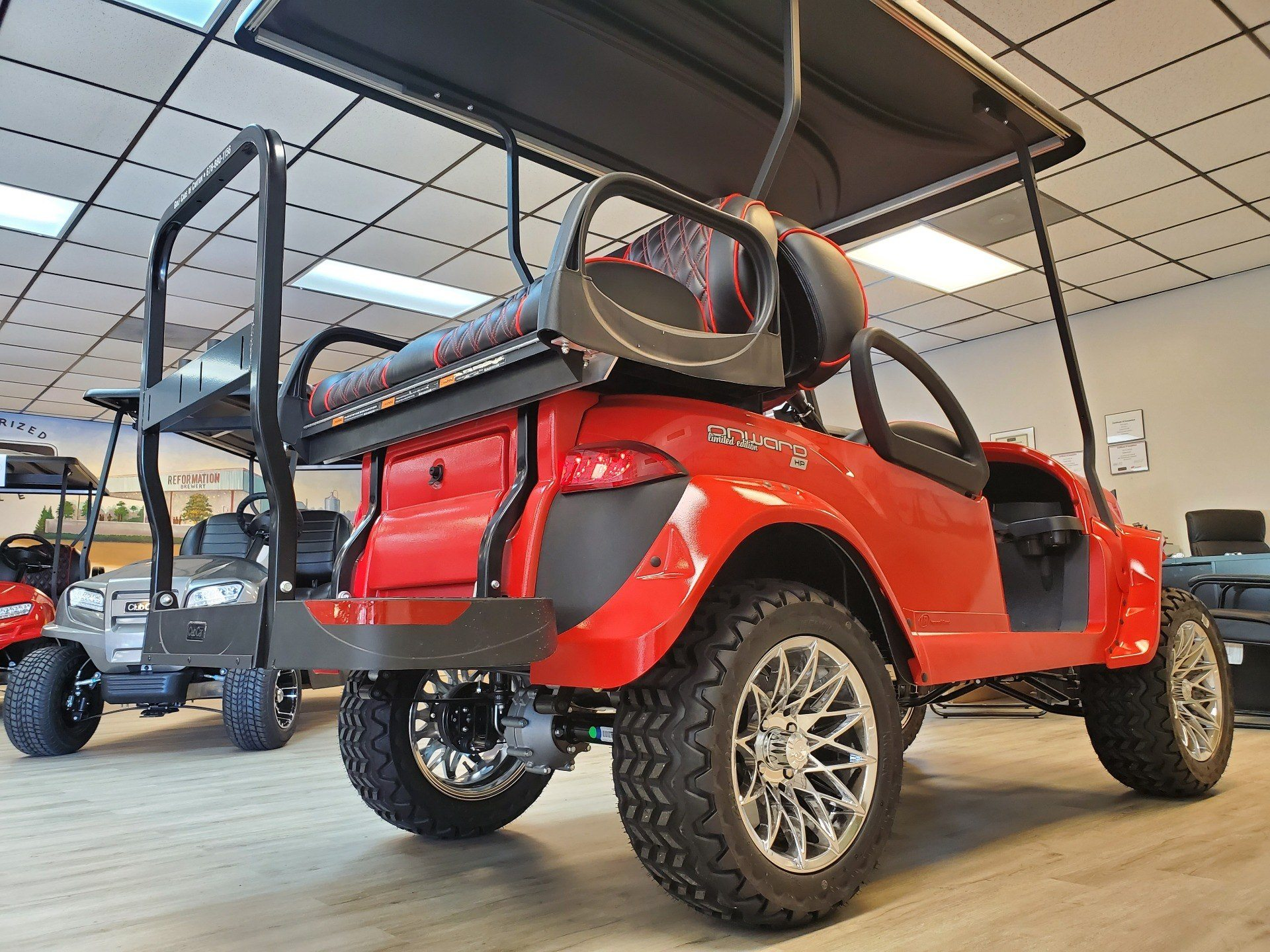 2020 Club Car Onward 4-Passenger Lifted HP/AC Special Edition in Canton, Georgia - Photo 5