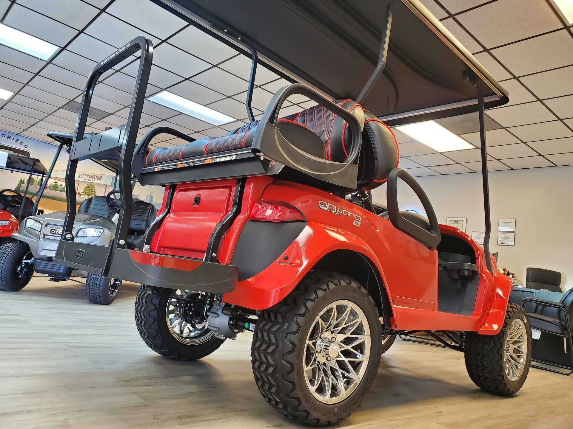 2020 Club Car Onward 4-Passenger Lifted HP/AC Special Edition in Canton, Georgia - Photo 19