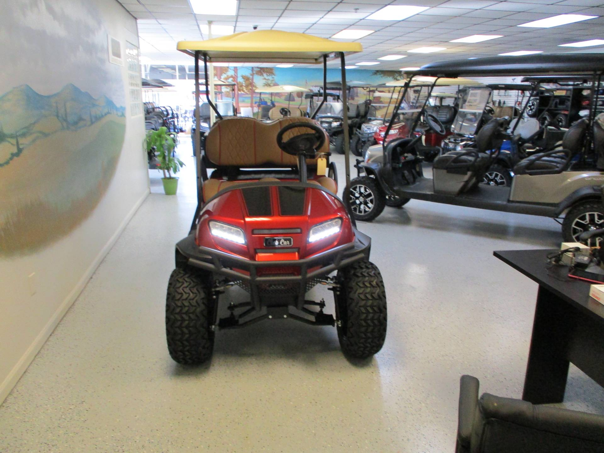 2020 Club Car Onward 4 Passenger Lifted Lithium Ion Sandstone Edition in Canton, Georgia - Photo 2
