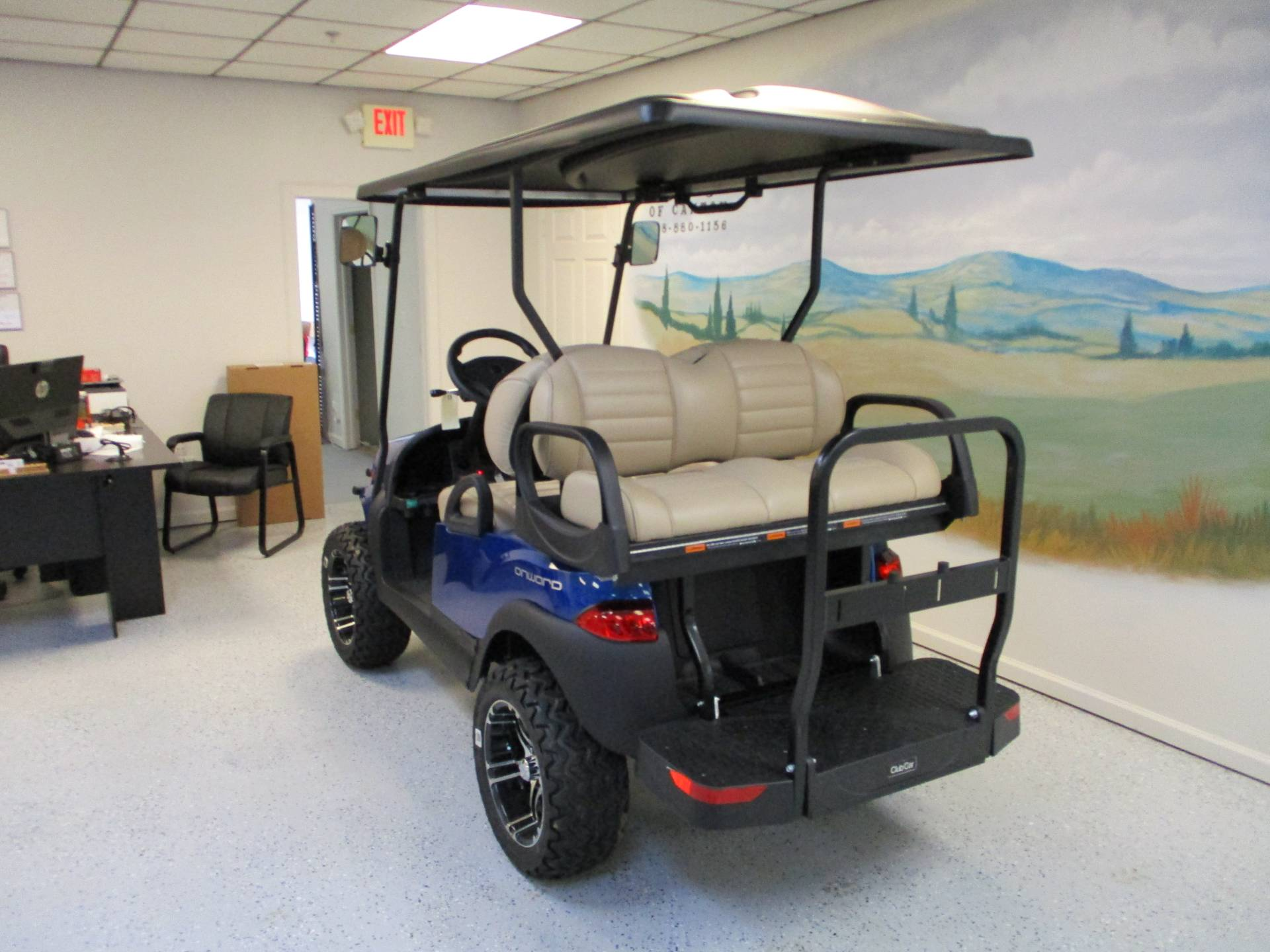 2020 Club Car Onward 4 Passenger Lifted Gas in Canton, Georgia - Photo 3