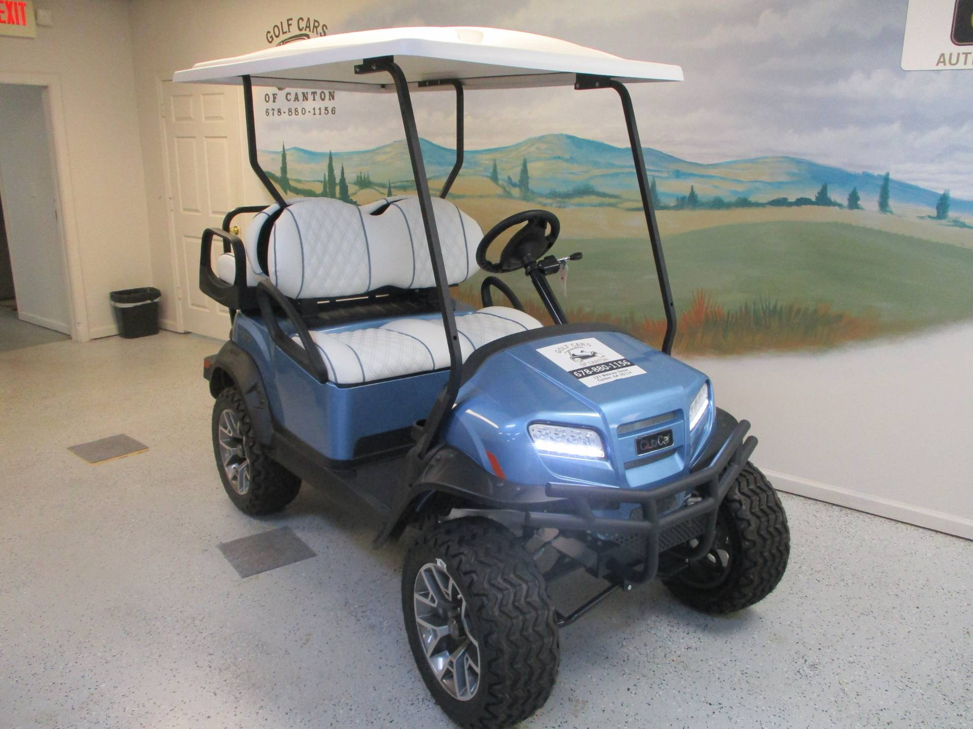 2020 Club Car Onward 4 Passenger Lifted Electric Ice Storm Edition in Canton, Georgia - Photo 1