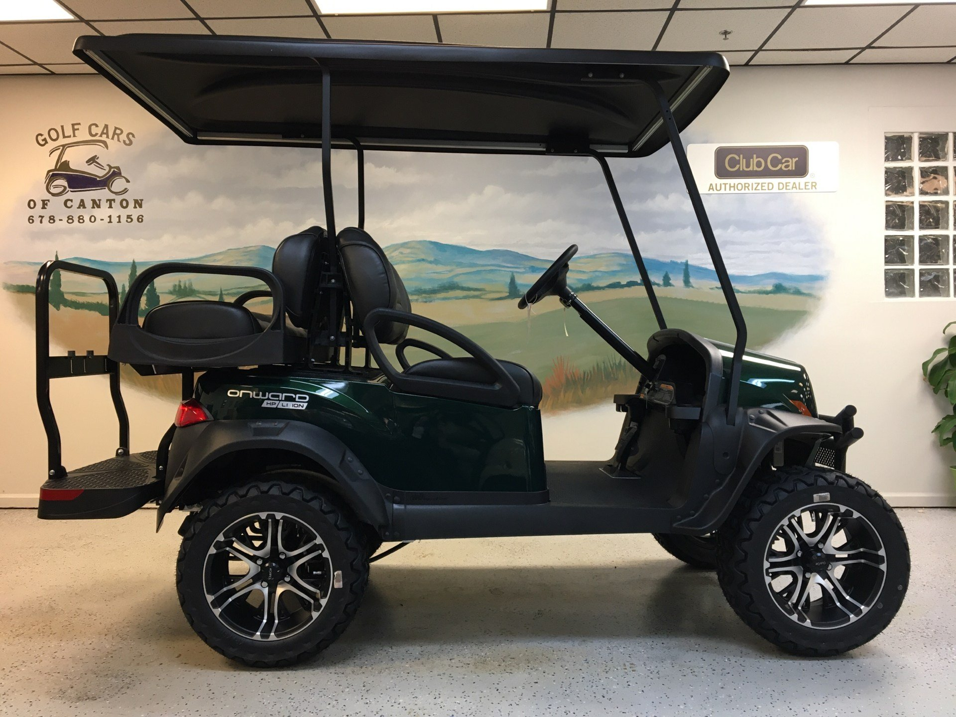 2020 Club Car Onward 4-Passenger Lifted Lithium Ion HP in Canton, Georgia - Photo 2