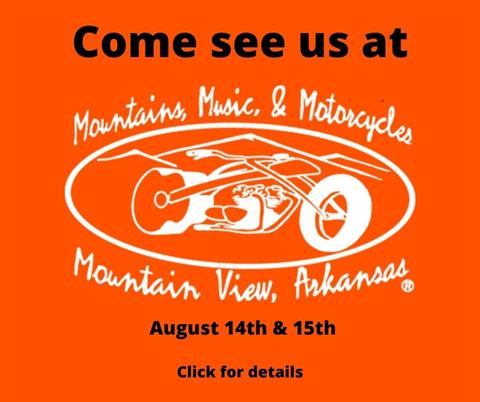 16th Annual Mountains, Music and Motorcycles Festival in Mt. View, AR