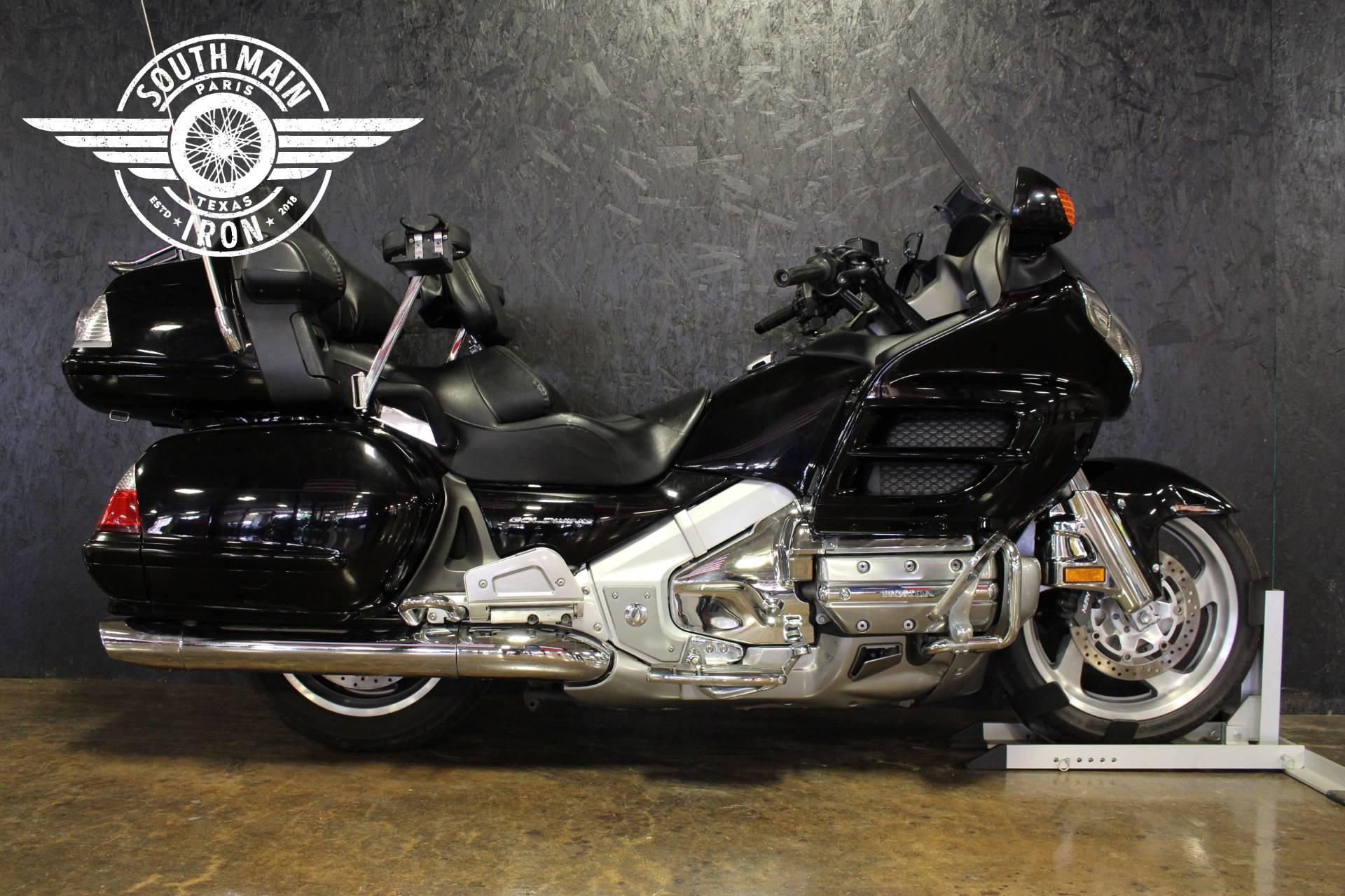 Used 2008 honda gold wing audio comfort navi motorcycles for Honda paris tx