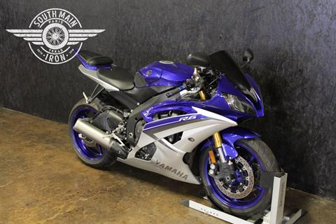 2015 Yamaha YZF-R6 in Paris, Texas