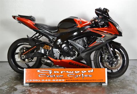 2008 Suzuki GSXR750 in Lexington, North Carolina