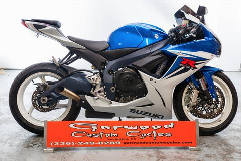 2011 Suzuki GSX-R600 in Lexington, North Carolina