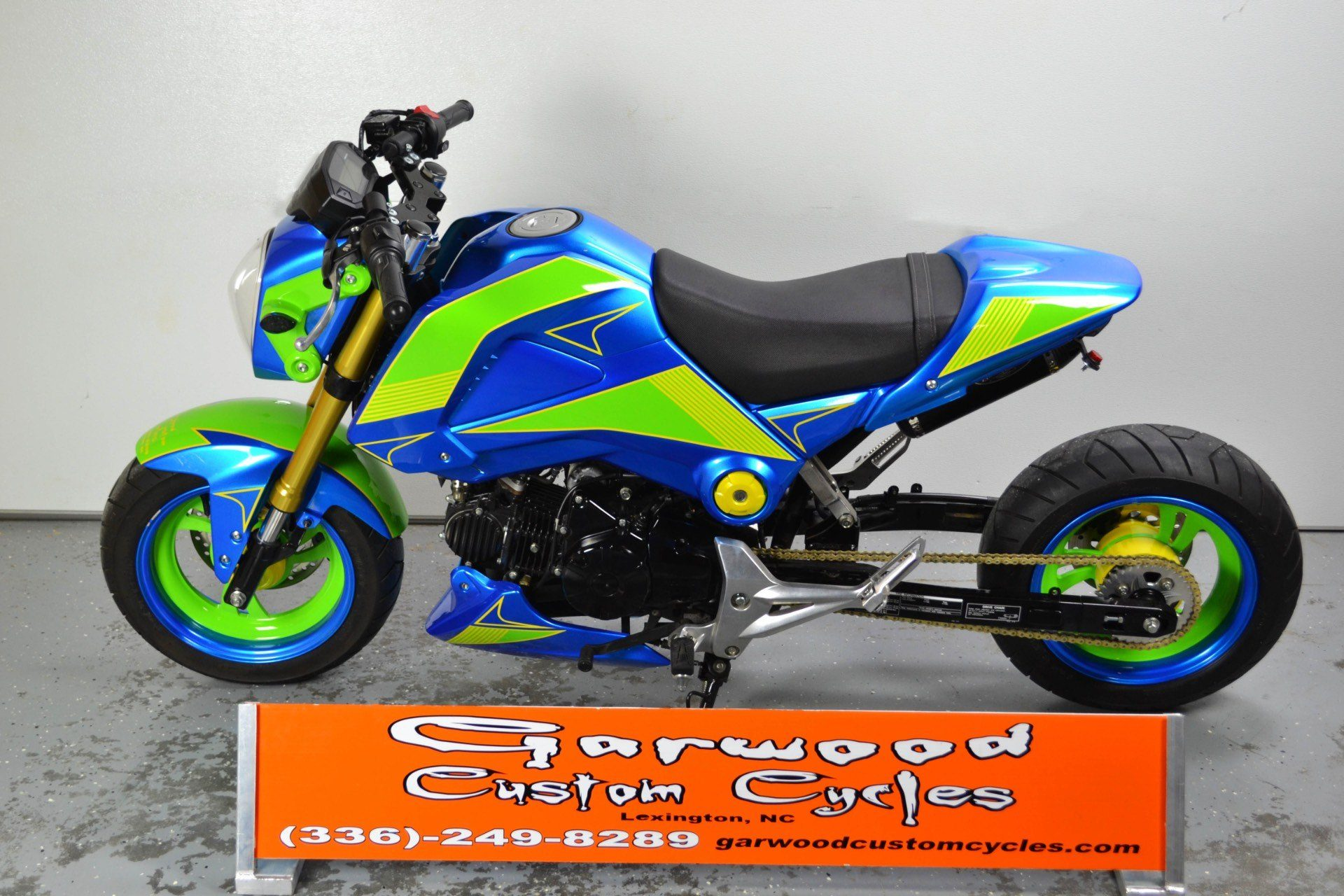 2014 Honda GROM 125 in Lexington, North Carolina