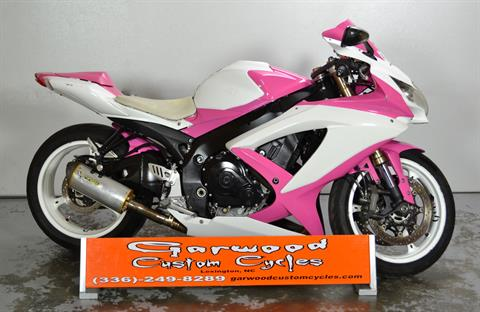 2009 Suzuki GSXR 600 in Lexington, North Carolina