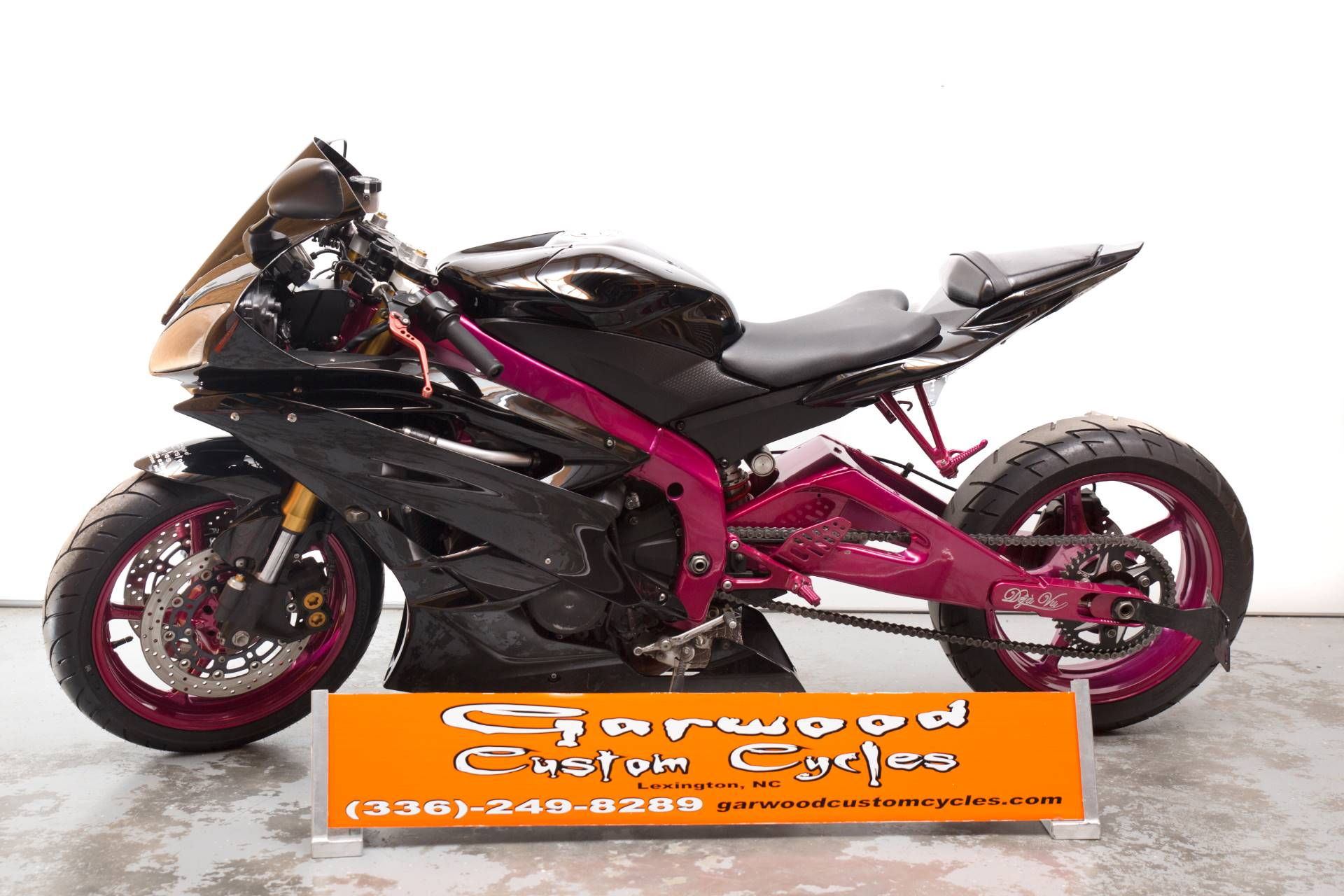 2007 Yamaha YZF-R6 in Lexington, North Carolina