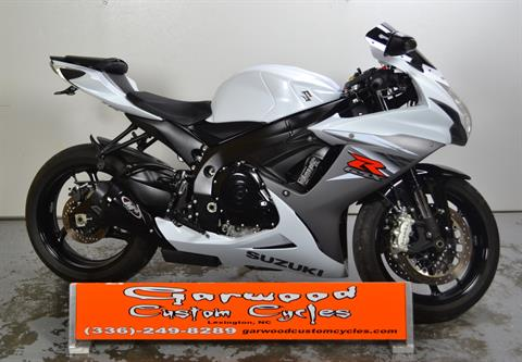 2015 Suzuki GSX-R600 in Lexington, North Carolina