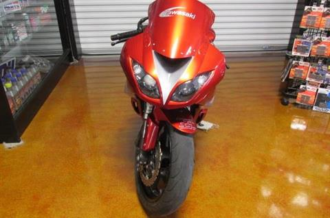 2011 Kawasaki ZX-6 in Lexington, North Carolina