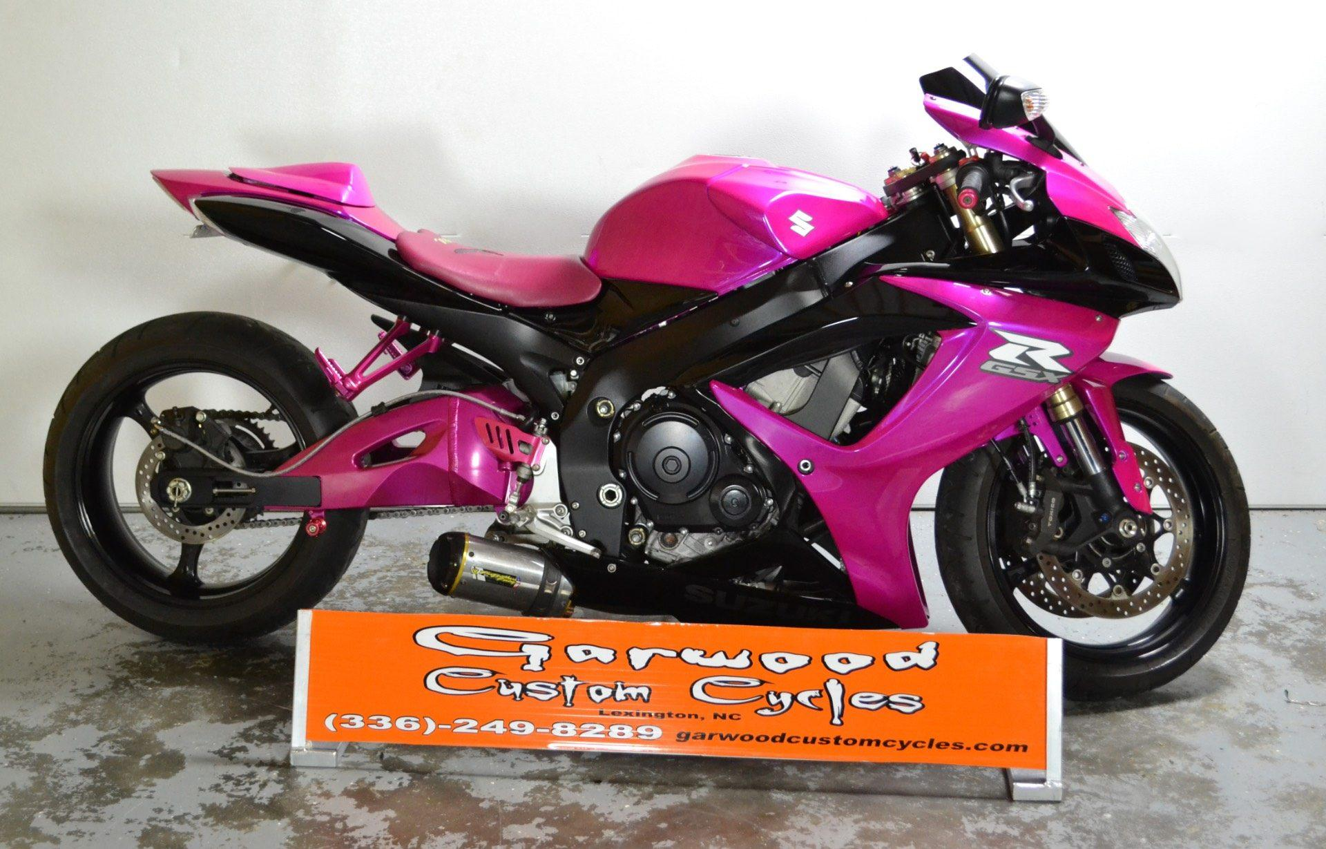 2006 Suzuki GSX-R600 in Lexington, North Carolina