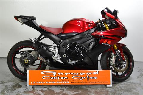 2014 Suzuki GSX-R750 in Lexington, North Carolina