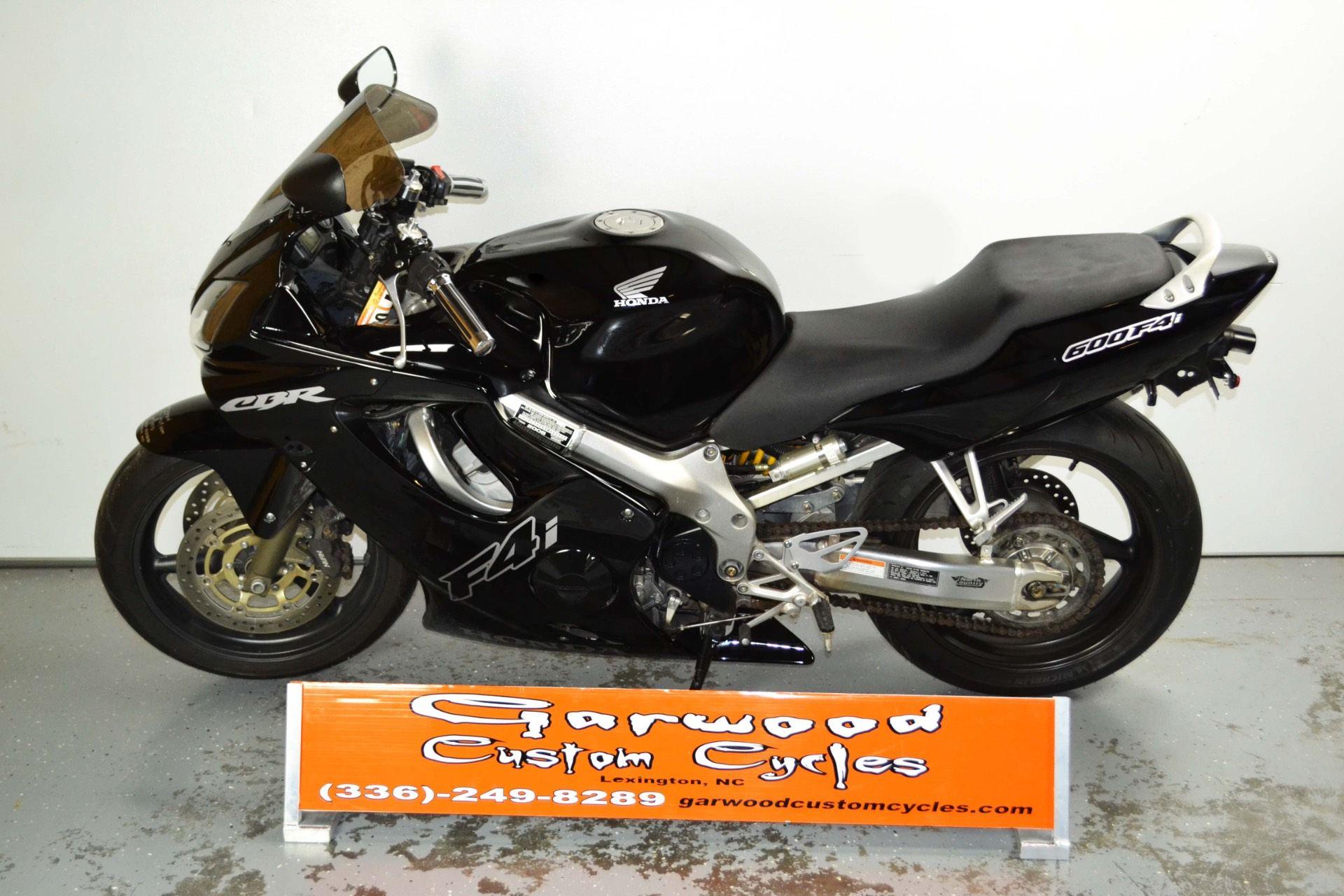 2005 Honda CBR 600F4I in Lexington, North Carolina