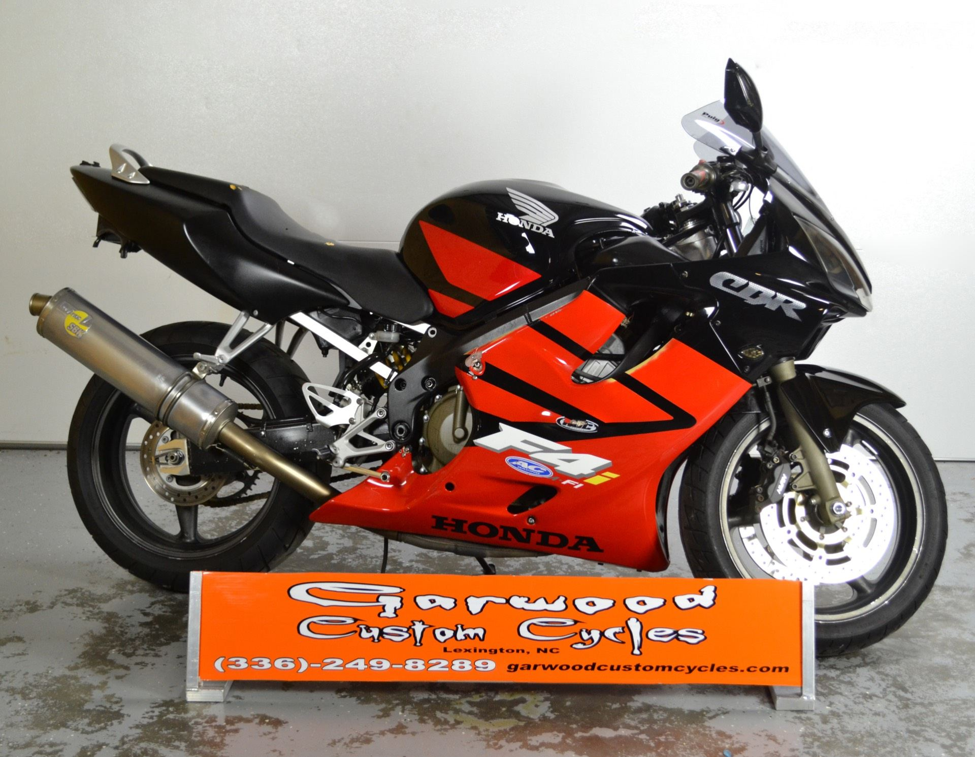 2004 Honda CBR-600F4I in Lexington, North Carolina