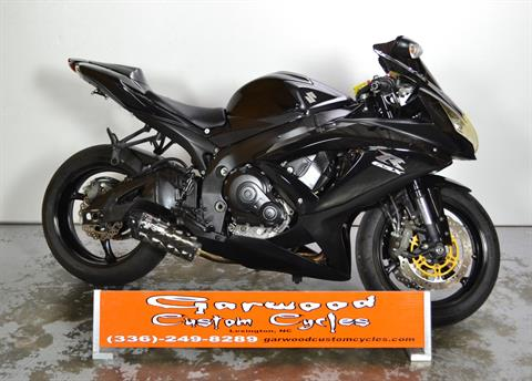 2008 Suzuki GSX-R 750 in Lexington, North Carolina