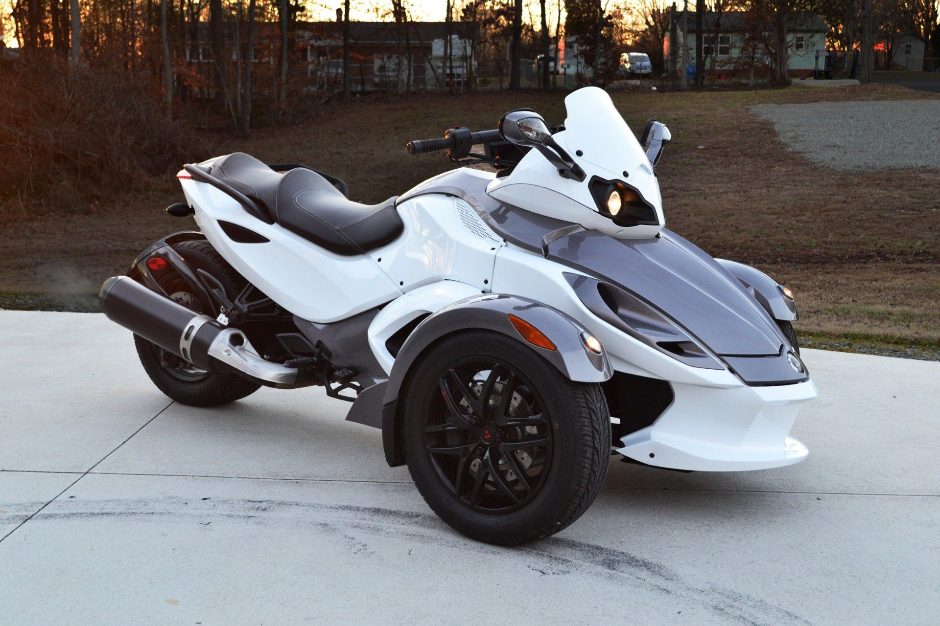2012 Can-Am Spyder® RS-S SE5 in Lexington, North Carolina