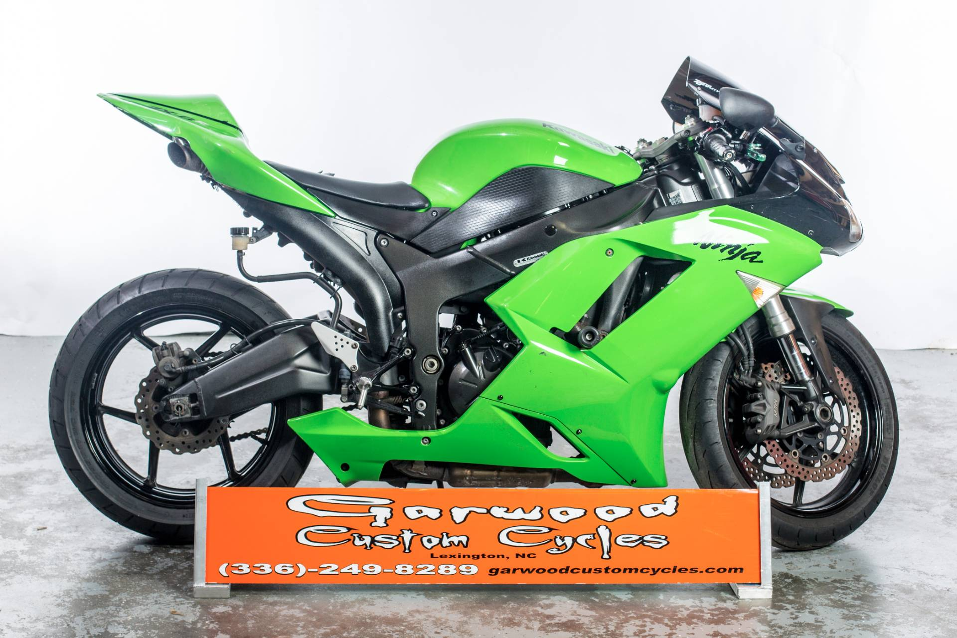 2007 Kawasaki ZX600 in Lexington, North Carolina