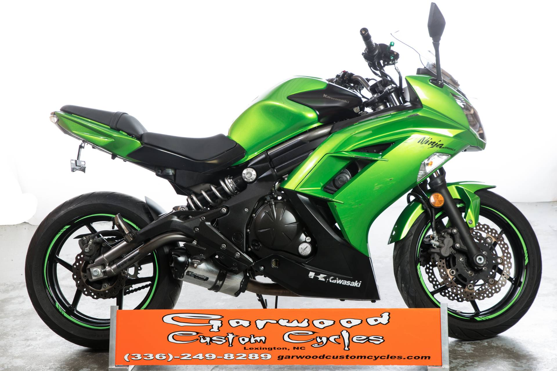 2012 Kawasaki Ninja® 650 in Lexington, North Carolina