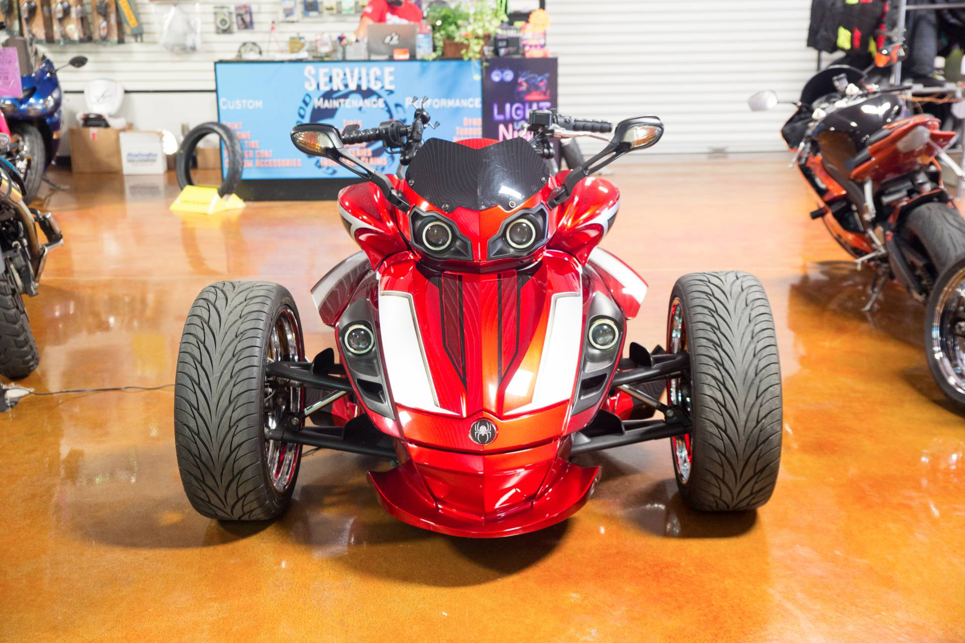 2010 Can-Am Spyder® RS SE5 in Lexington, North Carolina - Photo 3