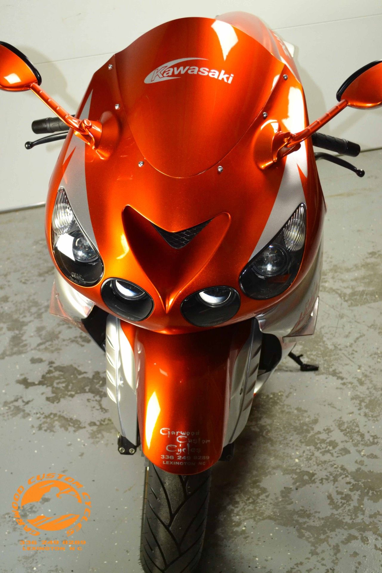 2009 Kawasaki ZX14 in Lexington, North Carolina