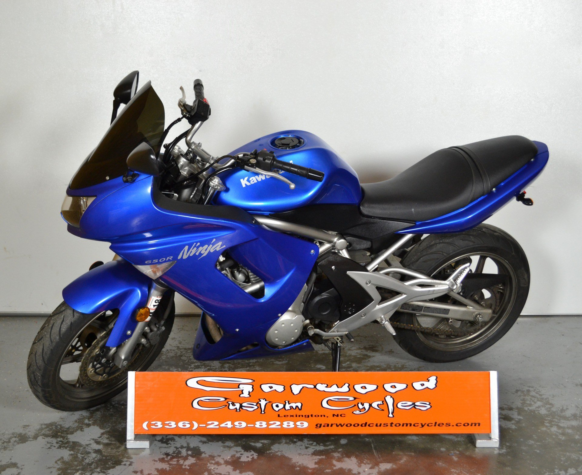 2007 Kawasaki NINJA 650R in Lexington, North Carolina