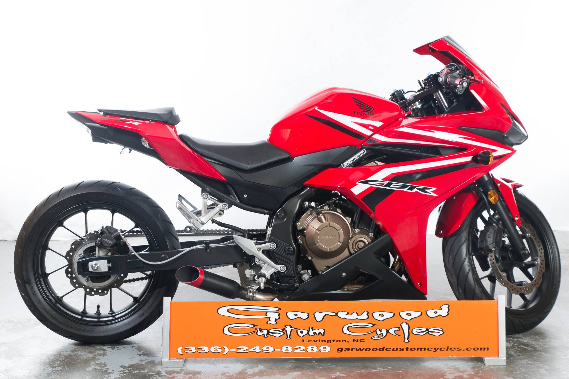 2017 Honda CBR500R in Lexington, North Carolina - Photo 1