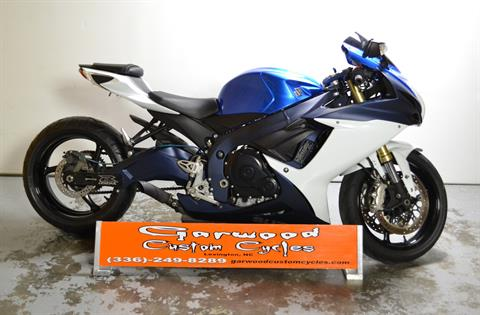 2011 Suzuki GSX-R 750 in Lexington, North Carolina