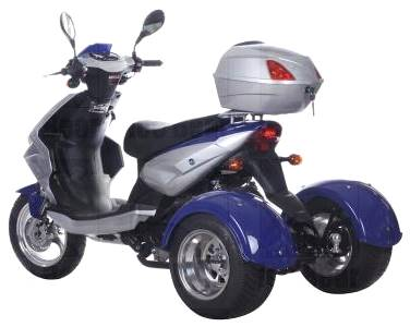 2019 Icebear 49cc Mojo Trike in Jacksonville, Florida - Photo 3
