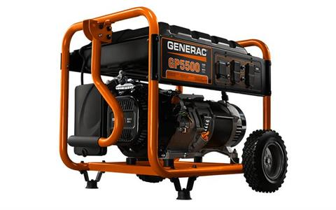 Generac  5500 Watt w/ Wheel Kit in Jacksonville, Florida